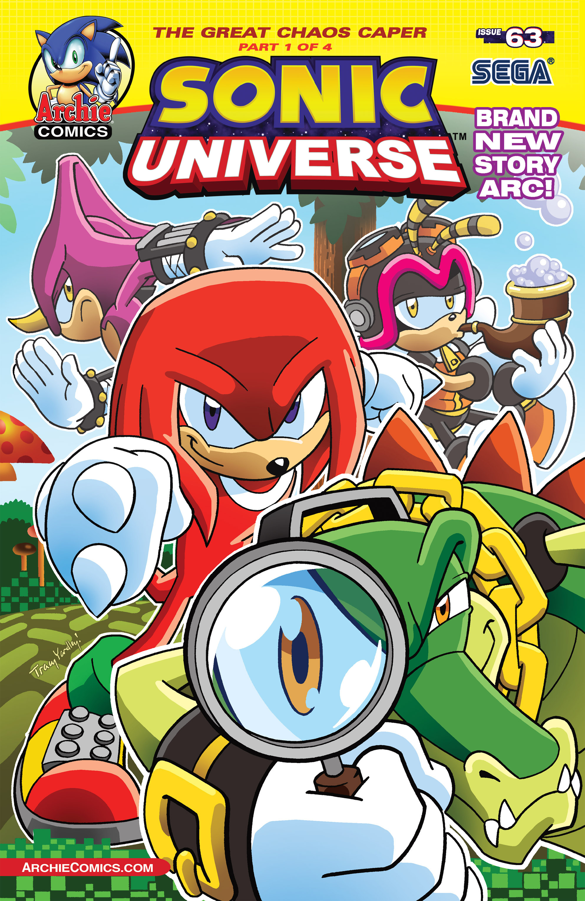 Sonic Universe Issue 63