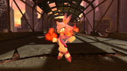 Blaze Piercing the Flames 01