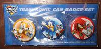 Sonic Heroes JP can badge set