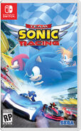 Team Sonic Racing - Portada Switch