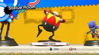 Classic Eggman statue