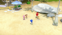 SB S1E19 Sonic's Shack volleyball court above