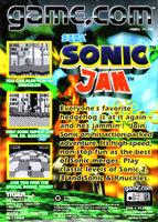Sonic Jam GameCom BC