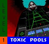 Sonic Spinball 8-bit Toxic Pools title screen