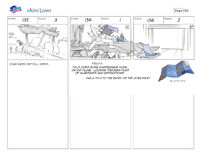 Aim Low storyboard 2