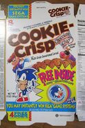 Cookie Crisp cereal Sonic Hedgehog 1995 Cap 1