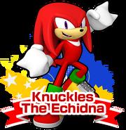 Knuckles Sonic Runners art