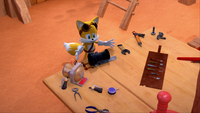 SB Tails Been Working On It To Himself