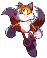 Tails (Sonic Chronicles poster)