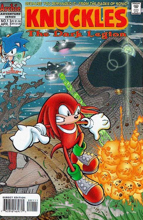 Knuckles the Echidna (serie de cómics)