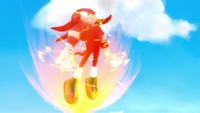 SB S1E10 Knuckles superpowers