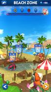 Sonic Dash Beach Zone ruined