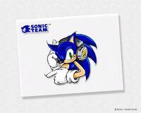 Sonic Team wallpaper headphones