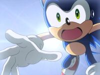Sonic about to get run over