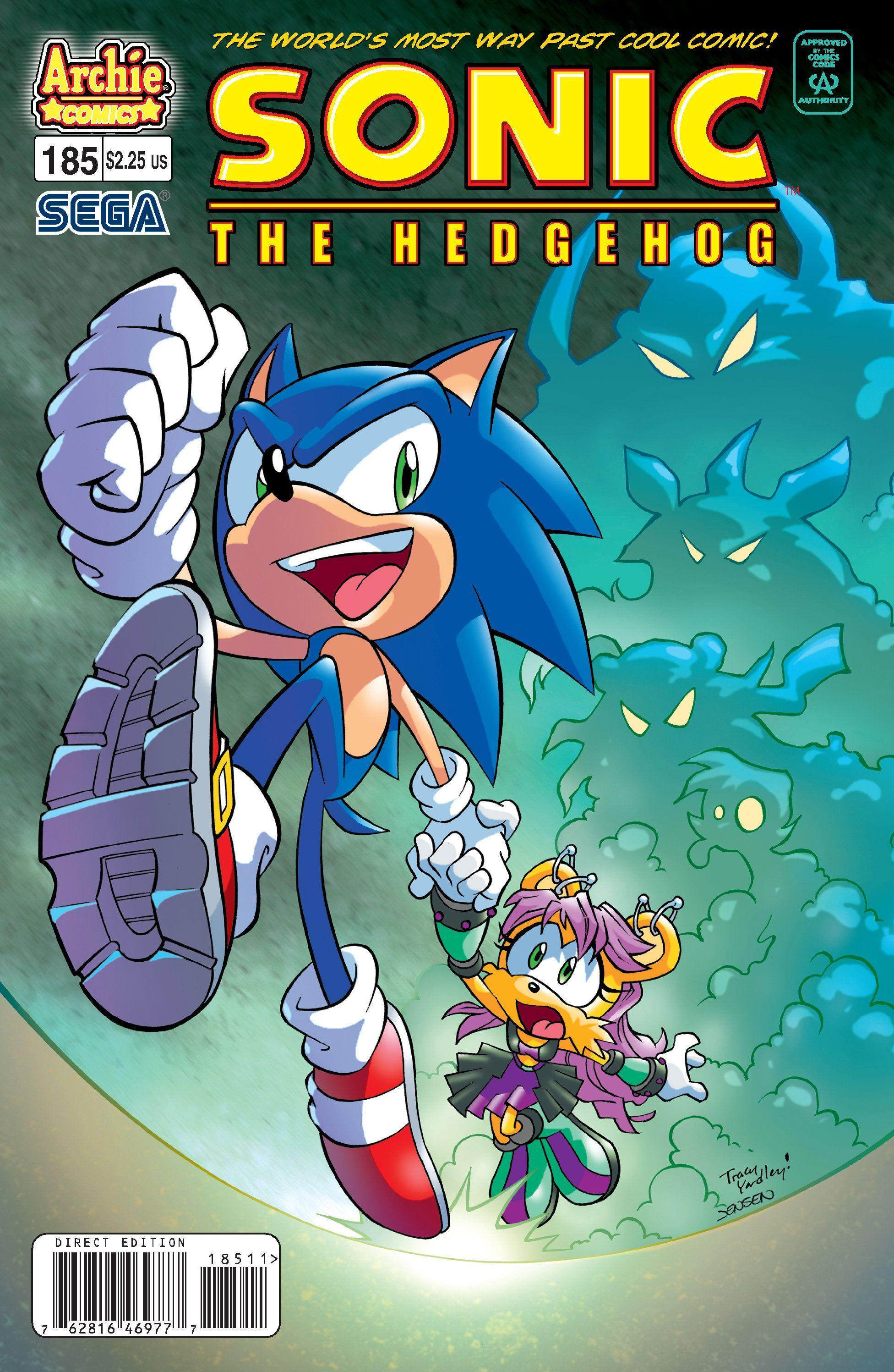Archie Sonic the Hedgehog Issue 185