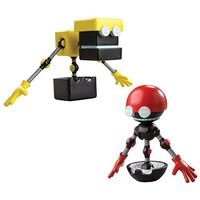 Tomy Sonic Boom figurines Orbot Cubot