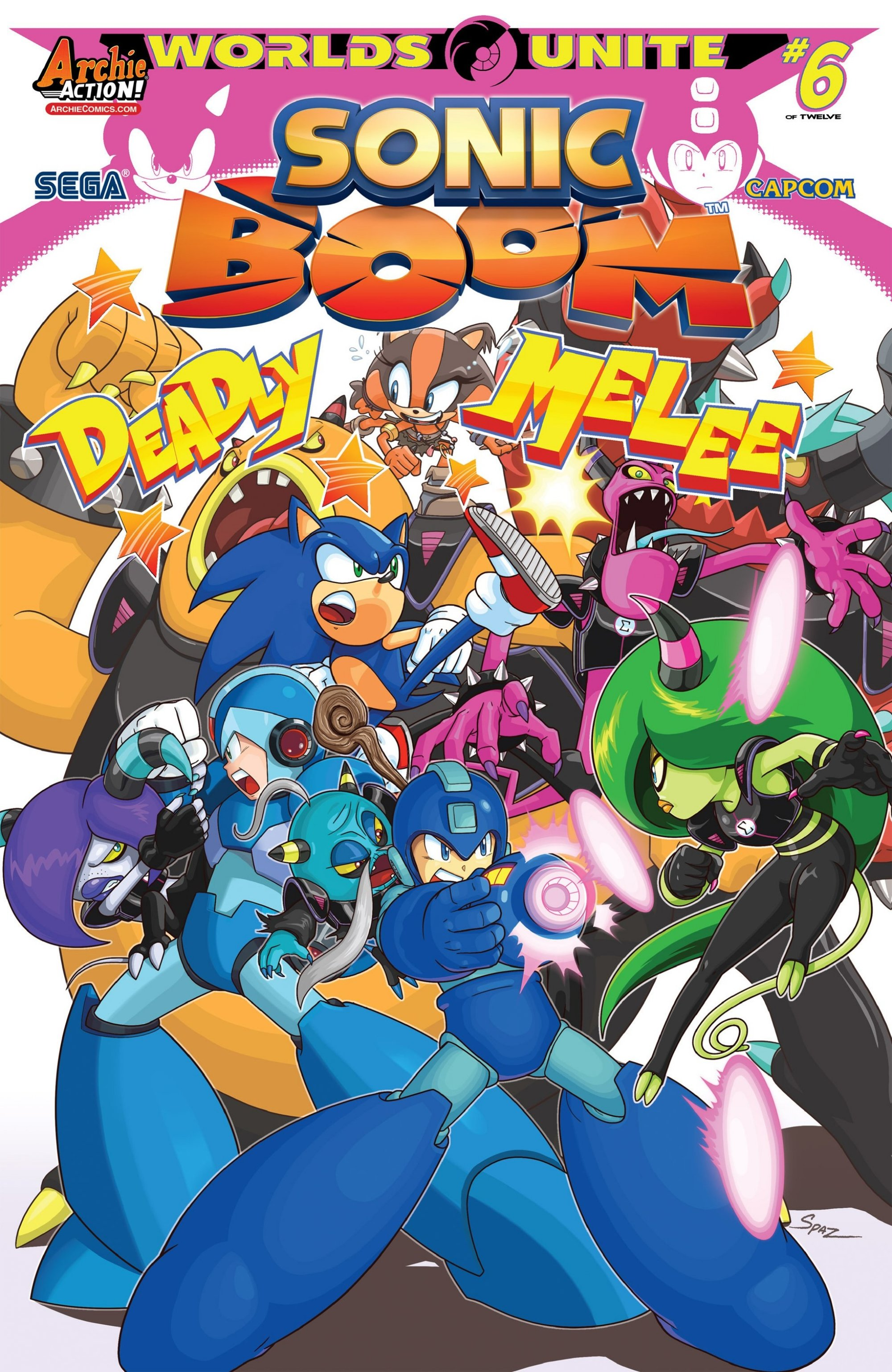 Archie Sonic Boom Issue 09