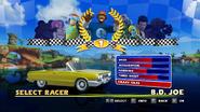 Sonic and Sega All Stars Racing character select 08