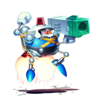 Heavy Gunner - Sonic Mania