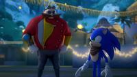 SB S1E38 Sonic vs Eggman coin flip