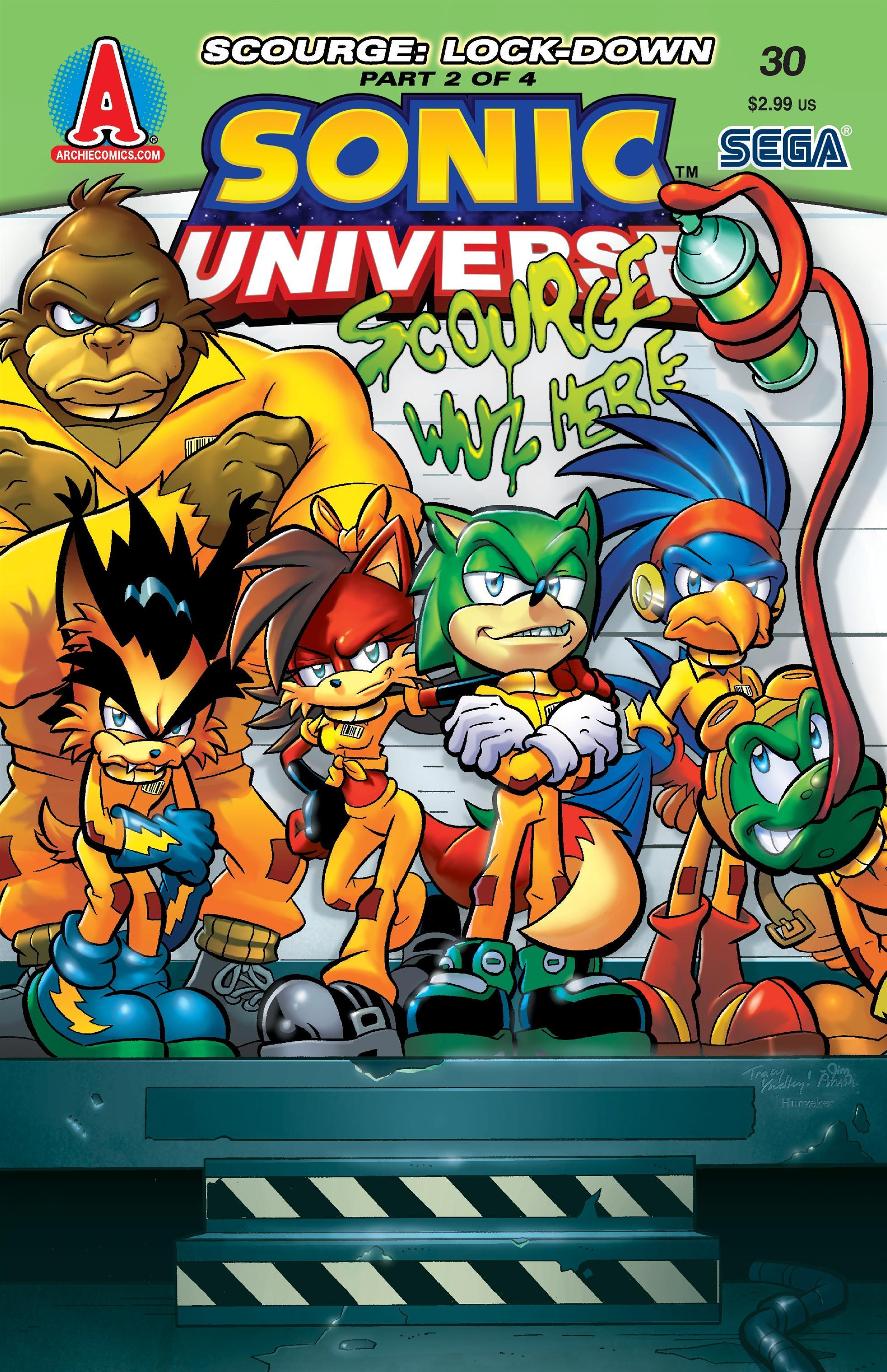 Archie Sonic Universe Issue 30