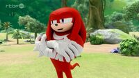 SB S1E10 Knuckles indifferent