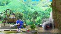SB S1E38 Sonic destroy Ball Bot