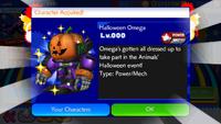 Sonic Runners Halloween Omega unlocked