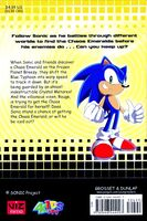 Sonic X Battle At Ice Palace book back