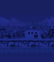 Windmill Isle - Night Background (Mobile)