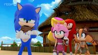 SB S1E23 Team Sonic all fighted out