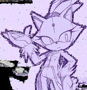 Sonic Channel wallpaper Blaze 2