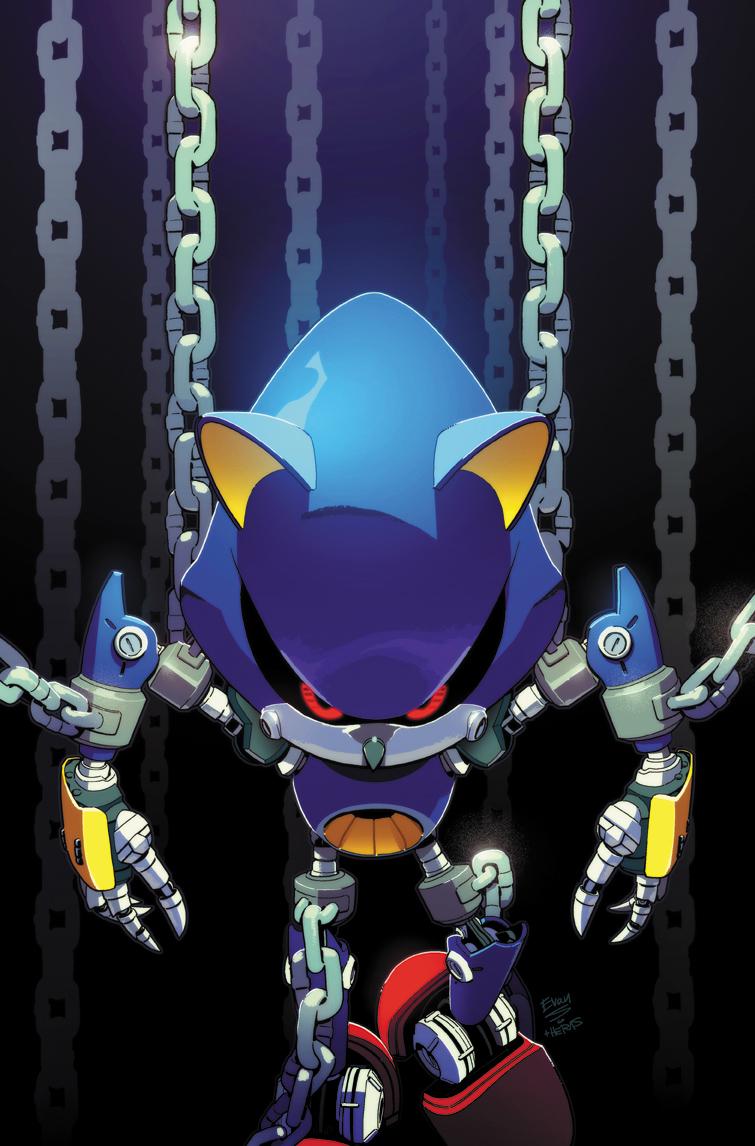 Metal Sonic (IDW)
