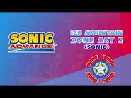 Ice Mountain Zone Act 2 (Sonic) - Sonic Advance