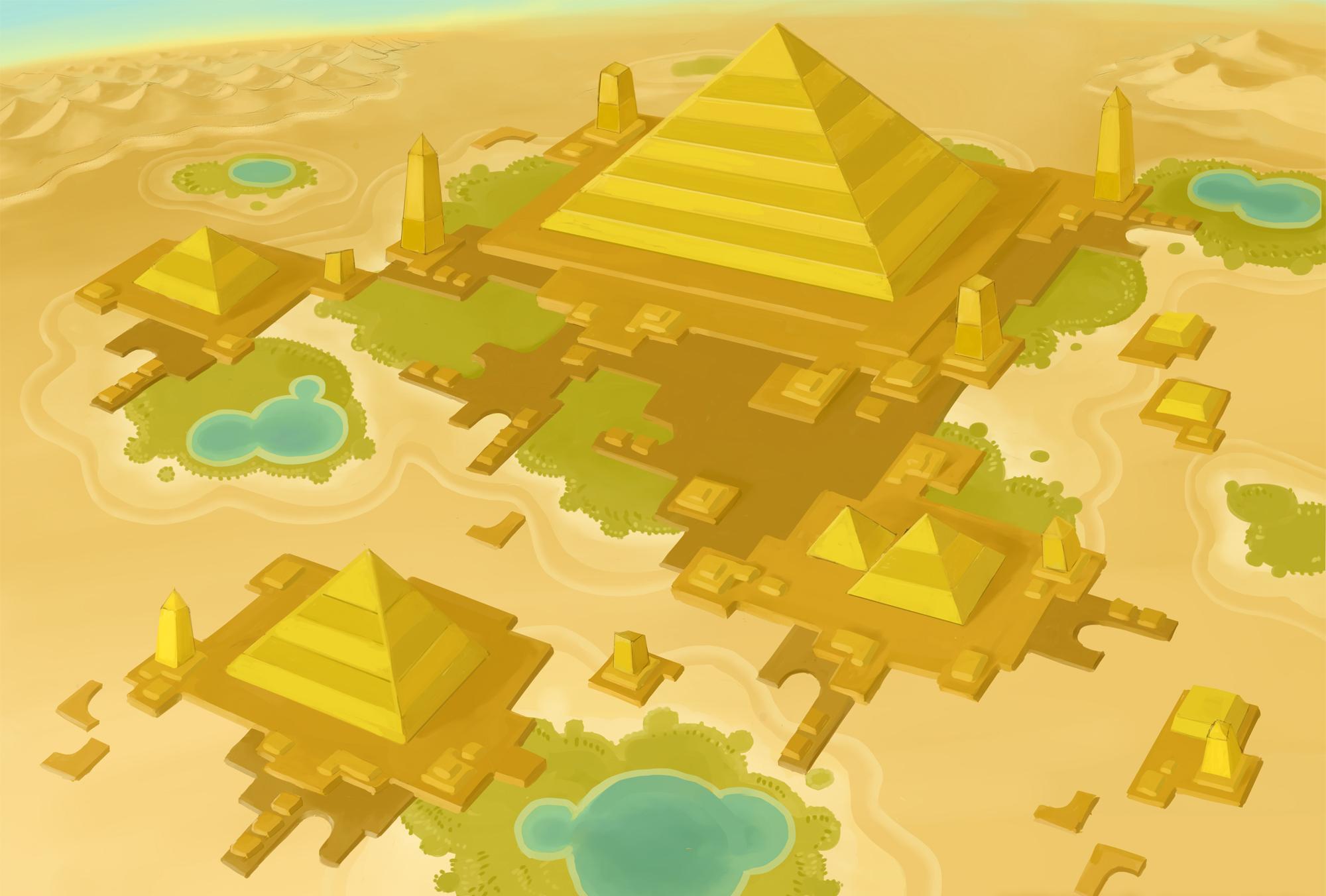 Desert Ruins/Galeria