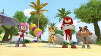 SB S1E14 Team Sonic confused