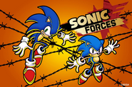 Sonic Forces Special Art