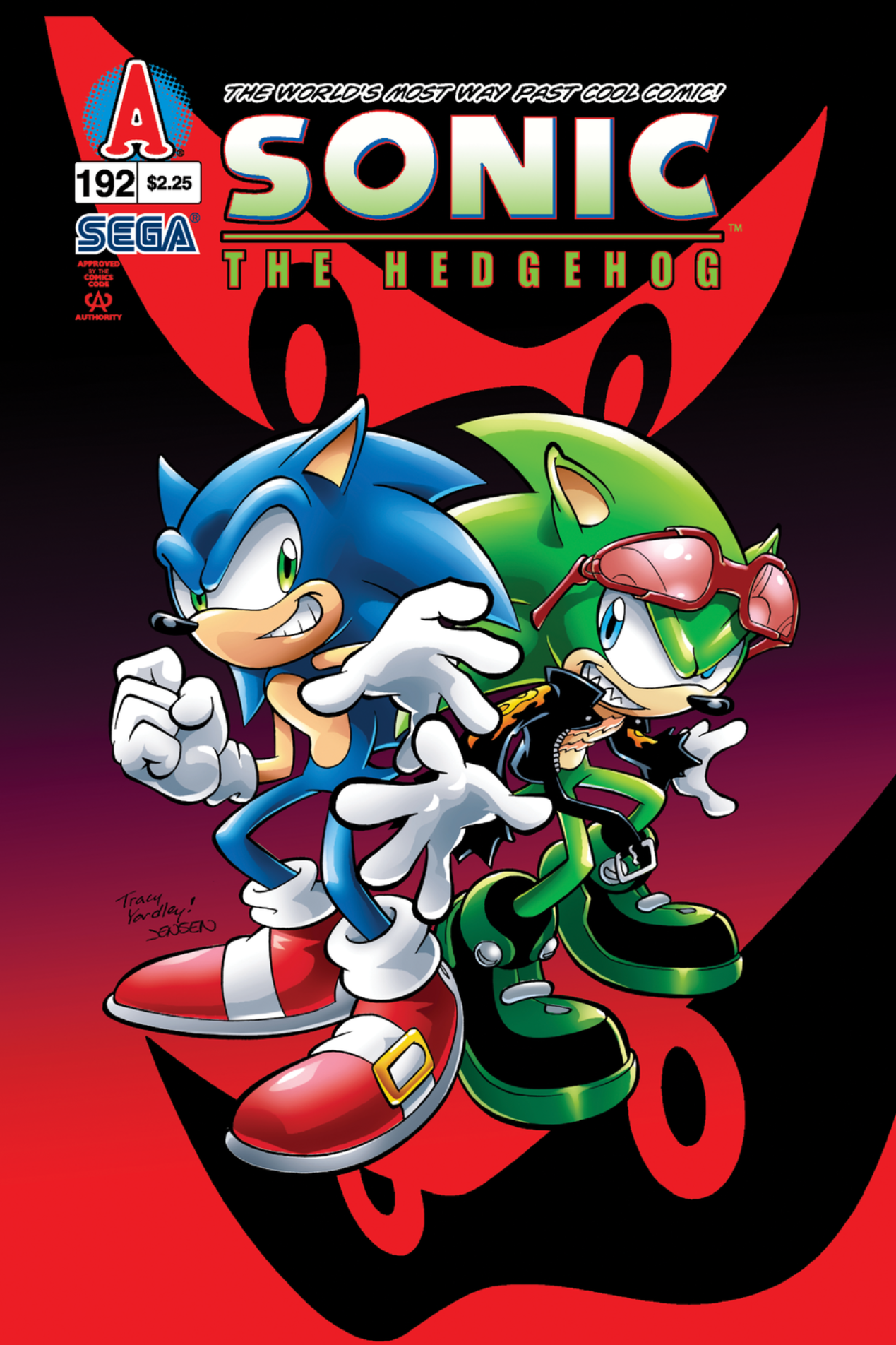 Archie Sonic the Hedgehog Issue 192