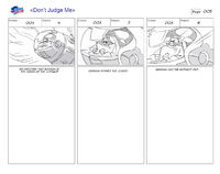 Dont Judge Me storyboard 1