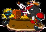 Eggman Orbot Cubot - Sonic Channel