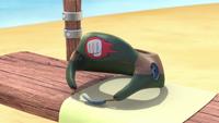 SB S1E08 Knuckles headguard