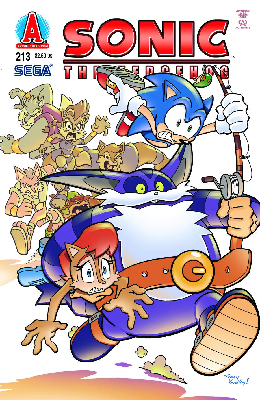 Archie Sonic the Hedgehog Issue 213