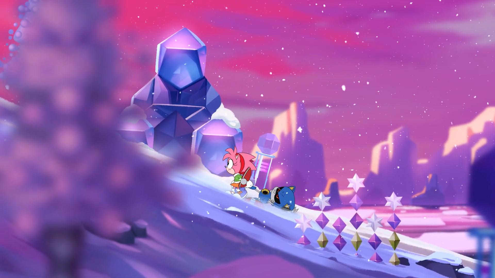 IceCap Zone (Classic Sonic's world)