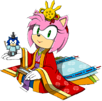 Amy rose sonic channel