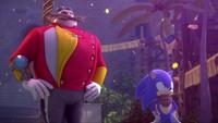 SB S1E38 Eggman Sonic gaze fireworks