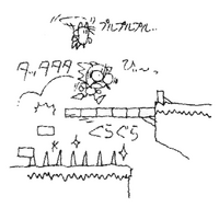 Sketch-Angel-Island-Zone-Crumbling-Bridge