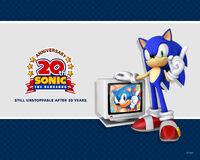 Sonic 20th wallpaper