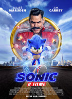 Sonic O Filme - Pôster Brasileiro