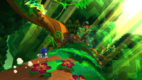 Have we seen those moving plants in Angel Island Zone in Sonic 3