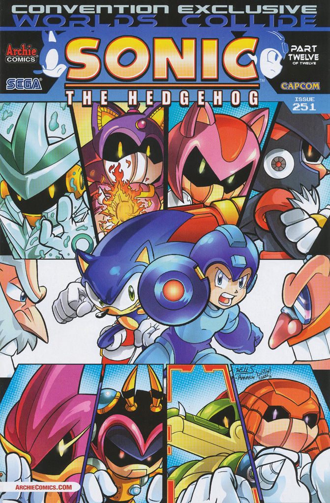 Archie Sonic the Hedgehog Issue 251